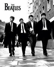 "THE BEATLES MINI POSTER ""WALKING IN LONDON"" LICENSED ""BRAND NEW""SIZE 40cm X 50cm"