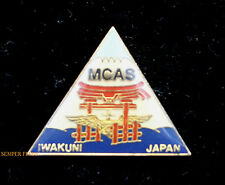 MCAS IWAKUNI JAPAN US MARINE CORPS AIR STATION HAT PIN MAG12 1ST MARINE AIR WING