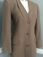 AUTH New CHRISTIAN DIOR Wool  , Long Sleeve JACKET , size 4