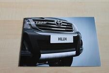 129978) Toyota HiLux - Zubehör - Prospekt 09/2011