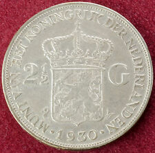 Netherlands 2 and a Half Gulden 1930 (B2610)