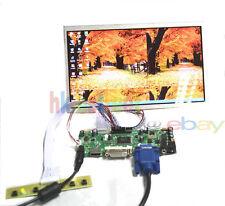HDMI+DVI+VGA LCD Controller Board Driver + 10.1 CLAA101WA01A 1366*768 Monitor