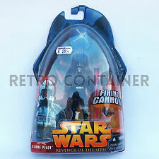 STAR WARS Kenner Hasbro Action Figure - EP III ROTS - Clone Pilot (Black)