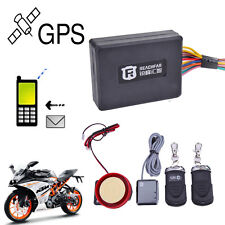 Remote GPS GPRS GSM Motorcycle Realtime Tracker Monitor SMS SOS Alarm System