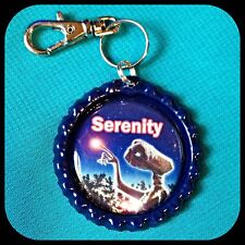 Personalized E.T. Bottle Cap Necklace Key Chain Zipper Pull Backpack ID ET