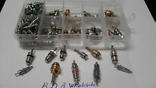 100 pcs Assortment A/C Schrader Valve Core For R134A Kit of 11kinds of vlvs