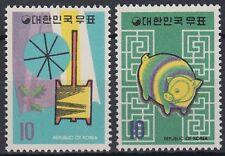 Corea-sur 1970 ** mi.742/43 año nuevo chino Chinese New Year [st0801]