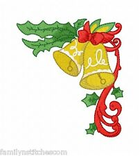 Christmas Corners 9 Machine Embroidery Designs on multi-formatted CD