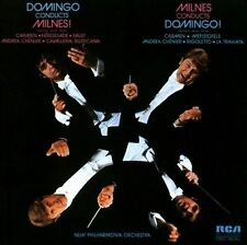 Domingo-Domingo Conducts Milnes CD NEW