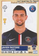 377 JAVIER PASTORE ARGENTINA PARIS.SG PSG STICKER FOOTBALL 2015 PANINI ~