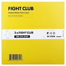 The Dust Brothers Fight Club Original Soundtrack/Score 2x Vinyl LP Record! NEW!!