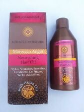 MOROCCAN ARGAN OIL MIRACLE MOISTURE NOURISHING HAIR OIL SMOOTH FRIZZ ADD SHINE!