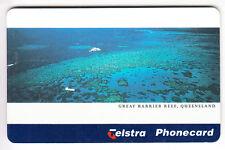 OCEANIE  TELECARTE / PHONECARD .. AUSTRALIE 5$ BARRIERE CORAIL 05/97 CHIP/PUCE
