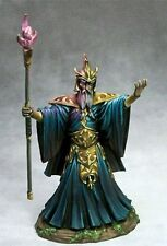 DARK SWORD MINIATURES - DSM7430 Evil Male Wizard