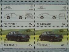 1956 JENSEN MOTORS 541 Grand Tourer GT Car 50-Stamp Sheet / Leaders of the World