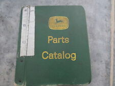 original John Deere Grain Drill Hitches Parts Catalog Lot of 18 differ in Binder
