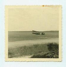 Deutsches Reich 2. Weltkrieg Foto Luftwaffe 1.(F.)/123 havariertes Flugzeug