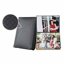 Photo Album Book with Peel-and-stick Pages for wedding Holds 20 photos, 4x6 inch