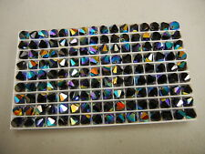 36 swarovski crystal beads,8mm jet AB #5301