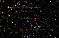 "Poster Print: New Release: Hubble Ultra Deep Field: Farthest Known View 24""x 36"""