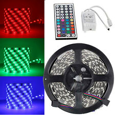 5M 5050 300 leds RBG LED Light Strips Non-waterproof+ 44KEY LED Controller DC12v