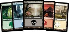 200 Basic Land Lot - Magic the Gathering Instant Collection 40 of each! FREE SHI