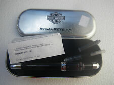 Genuine Harley Davidson Fountain Pen made from Waterman with leather case