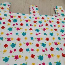 """Curtains 168x137 66x54"""" flowers  Floral Patchwork Kids Schabby Chic Lined Girl"""