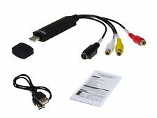 Audio Video Grabber Digitalisierung USB 2.0 Cinch RCA Stick Scart Adapter Kabel