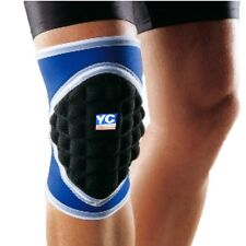 Padded Neoprene Knee Pad Goalkeeper Support Football Sleeve Brace Sports M Large