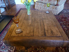 Rustic coffee table made from reclaimed HARDWOOD timber!