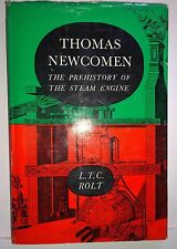 Thomas Newcomen, Prehistory of the Steam Engine, L T Rolt, 1963, David & Charles