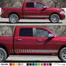 Side Stripe Sticker for Dodge Ram 1500 light pickup graphic hitch 2015 2016 leaf