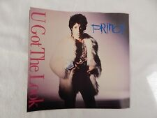 "PRINCE  ""U Got The Look""  PICTURE SLEEVE!! BRAND NEW!! ONLY NEW COPY ON eBAY!"