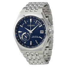 Citizen Satellite Wave World Time GPS Perpetual Mens Watch CC3020-57L