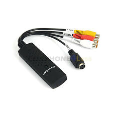 USB 2.0 Video Easycap TV DVD VHS Capture Card Audio AV For PS3 DVD PC