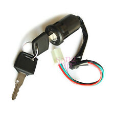 Ignition Switch 4- Wire 2Keys 50cc 250cc Electric Scooter Dirt Bike Motorcycle