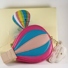 NWT Kate Spade Get Carried Away Hot Air Balloon Leather Coin Purse Case
