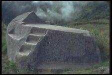 142049 Funeral Rock Machu Picchu A4 Photo Print