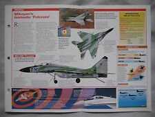 Aircraft of the World - Mikoyan MiG-29 'Fulcrum'
