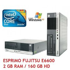 COMPUTER FUJITSU E5915 INTEL CORE2DUO E6600 2,4 GHZ 2 GB RAM 160 HD PC XP HOME