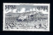 ST. PIERRE E MIQUELON - 2005 - Battello Le Transpacific, naufragato il 18.05.71