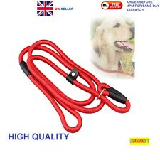 Strap Strong Nylon Rope Pet Dog Puppy Slip Training Leash Walking Lead Collar