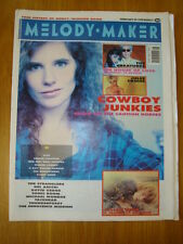 MELODY MAKER 1990 FEB 24 COWBOY JUNKIES CREATURES COPE