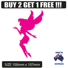 Flying Fairy  sticker for car , laptop , window , fridge popular  tinkerbell