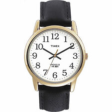 Timex Men's Easy Reader | Large Numbers White Dial Black Band | Watch T20491