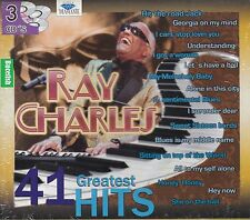 Ray Charles 41 Greatest Hits Box set 3CD New Nuevo Sealed