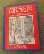 ANDERSEN'S FAIRY TALES Ed. Osborne Illus. Kutcher 1930 HC
