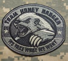 TEAM HONEY BADGER MILITARY TACTICAL US ARMY ISAF MORALE COMBAT ACU VELCRO PATCH