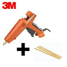 """Brand New 3M Scotch-Weld AE II Glue Gun + 3 Ea. 3750 AE Tan 1/2"""" x 10"""" Glue Stks"""